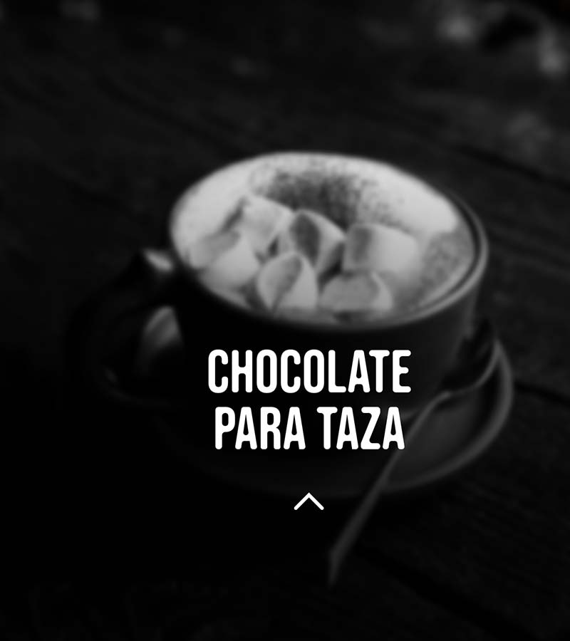 chocolate caliente para taza