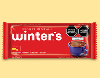 Winter's - Tableta para taza