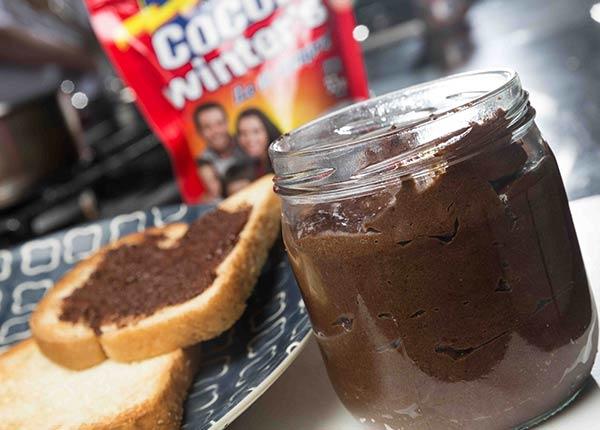 Mantequilla de almendras con cocoa