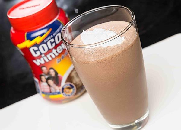 Milkshake de vainilla y chocolate